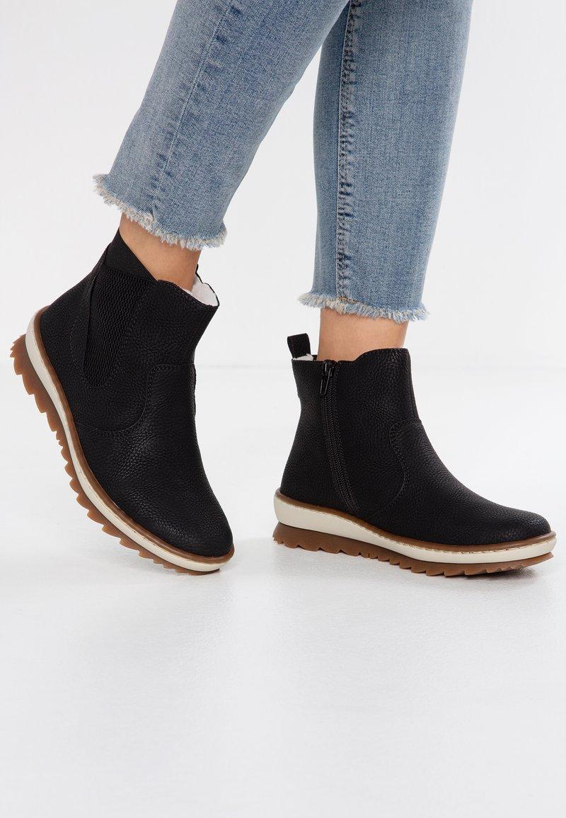 Rieker - Classic ankle boots - schwarz