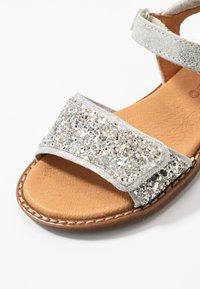 Froddo - LORE SPARKLE MEDIUM FIT - Sandals - silver - 2