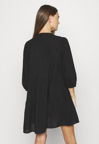 Vero Moda - VMMUSTHAVE BOHO 3/4 TUNIC  - Denní šaty - black - 2