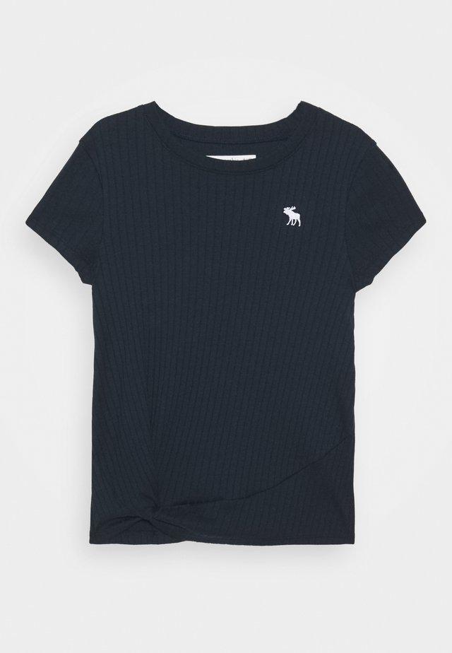 TWIST - T-shirt z nadrukiem - navy