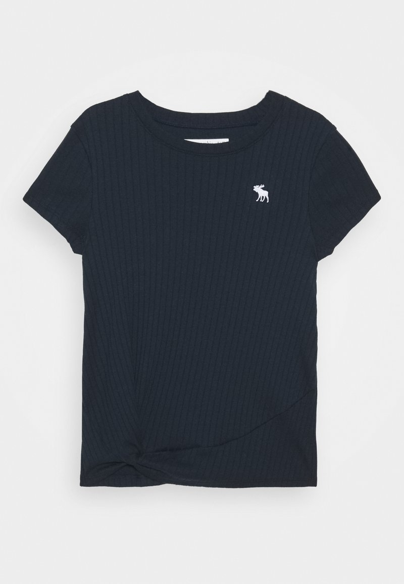 Abercrombie & Fitch - TWIST - Camiseta estampada - navy