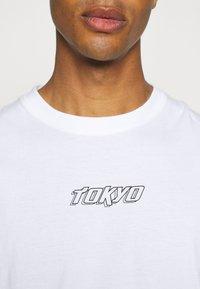 Nominal - TOKYO TEE - Print T-shirt - white - 4