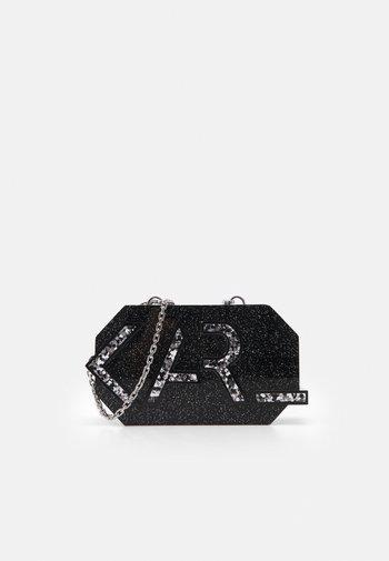 LETTERS MINAUDIERE - Across body bag - black