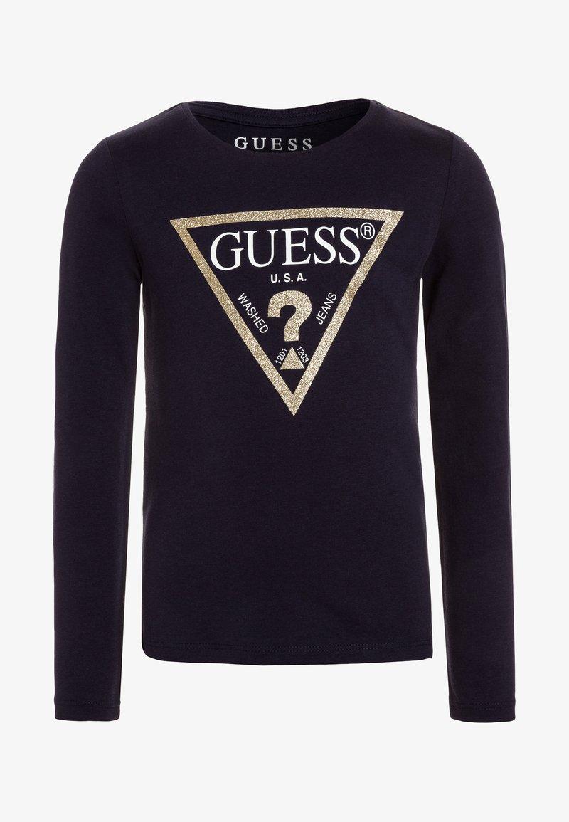Guess - Top sdlouhým rukávem - duke blue