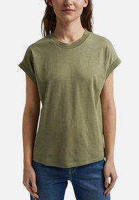 Esprit - Basic T-shirt - light khaki - 3
