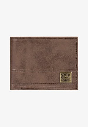 New Stitchy - Dreifach faltbares - Wallet - chocolate brown