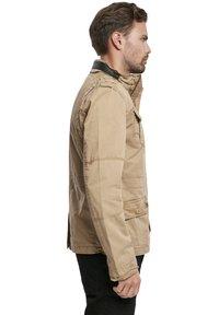 Brandit - HERREN BRITANNIA JACKET - Summer jacket - camel - 4