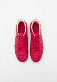 Nike Performance - TIEMPO LEGEND 8 PRO TF - Astro turf trainers - cardinal red/black/crimson tint/white - 3