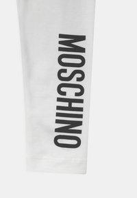 MOSCHINO - Leggings - Trousers - optic white - 2