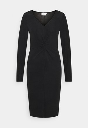KAJAMAL DRESS - Etuikjoler - black