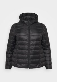 Even&Odd Curvy - Down jacket - black - 5