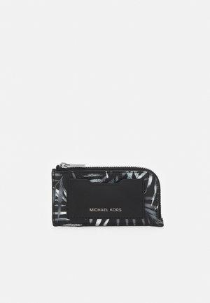 ZIP WALLET UNISEX - Plånbok - black/white