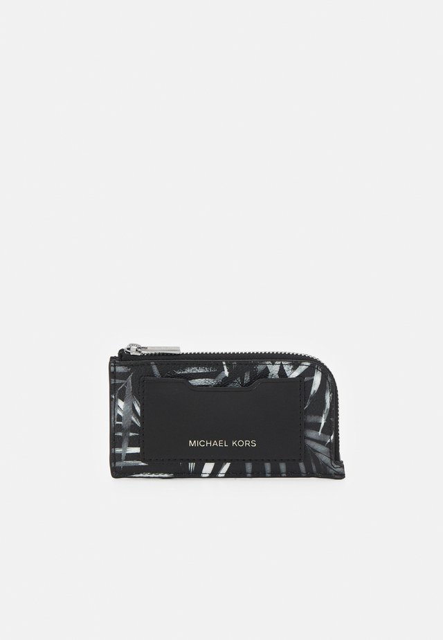 ZIP WALLET UNISEX - Peněženka - black/white