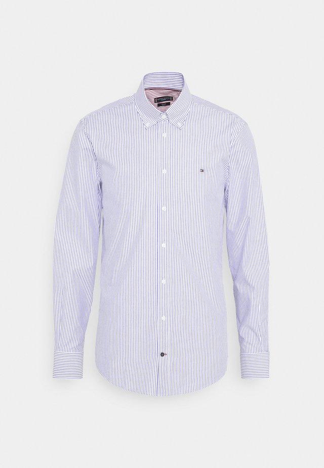 POPLIN WIDE STRIPE SLIM FIT - Camicia - navy/white