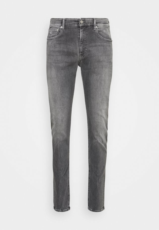 SLIM TAPER - Slim fit jeans - denim grey