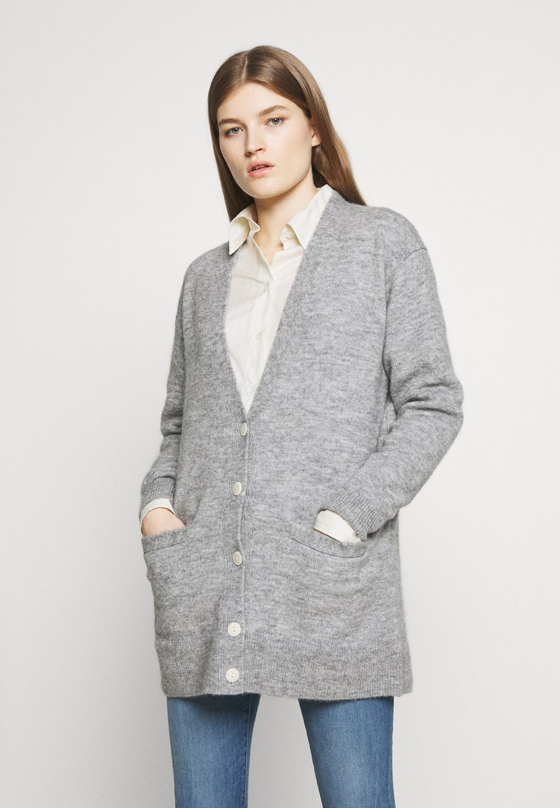 J.CREW - BOYFRIEND NEW - Cardigan - graphite