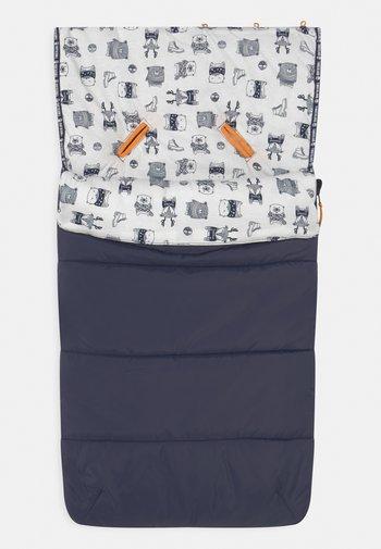 BABY SLEEPING BAG UNISEX - Footmuff - navy