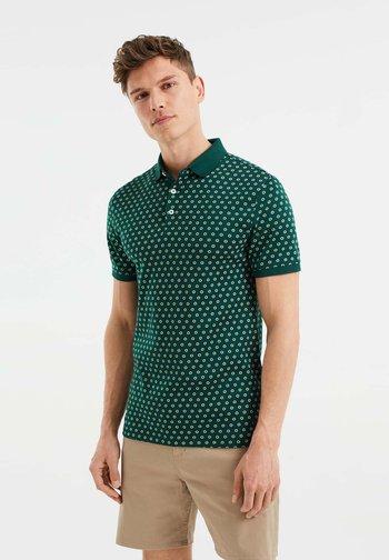 SLIM FIT  - Polo shirt - dark green