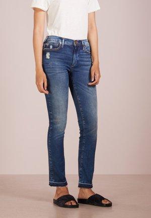 HALLE  - Straight leg jeans - blue denim