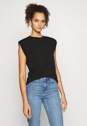 OBJJEANETTE   - Print T-shirt - black