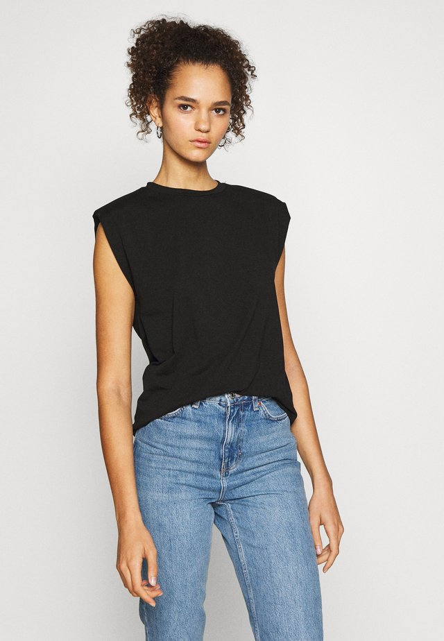 OBJJEANETTE   - T-shirt con stampa - black
