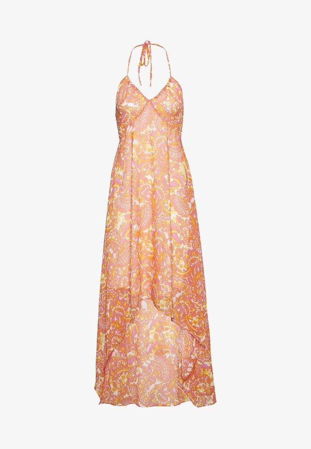 LADIES DRESS - Długa sukienka - orange
