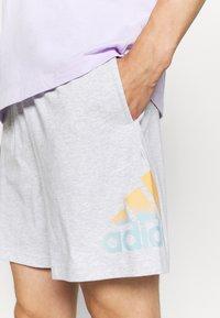 adidas Performance - Sports shorts - light grey heather - 3