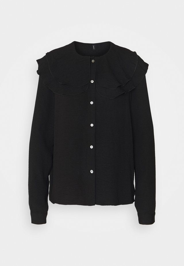 VMWIGGA COLLAR - Overhemdblouse - black