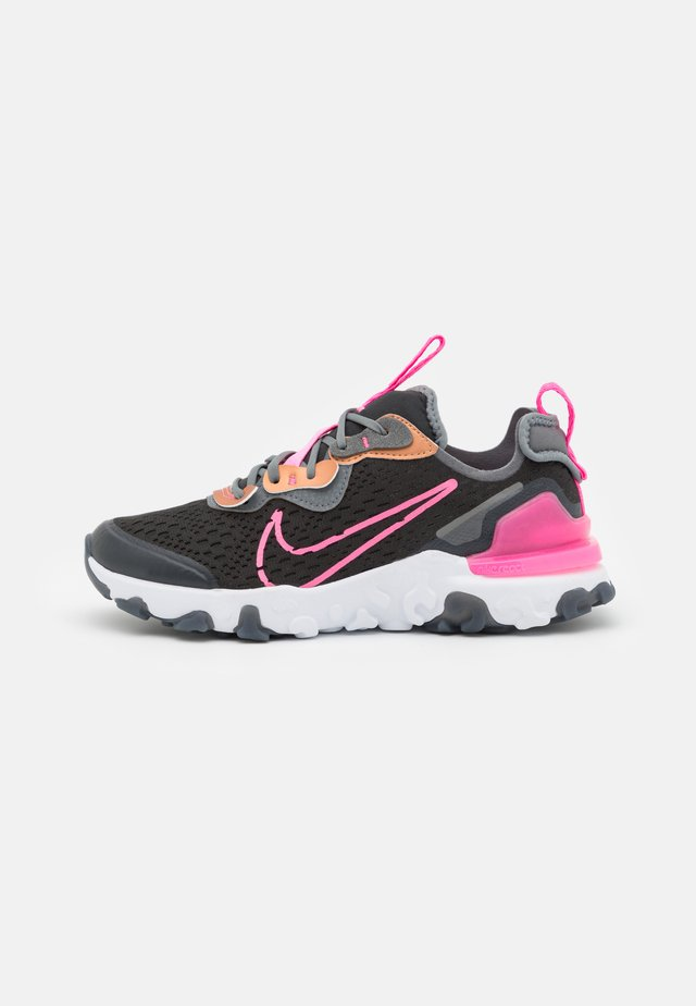 NIKE REACT VISION - Trainers - off noir/pink glow/smoke grey