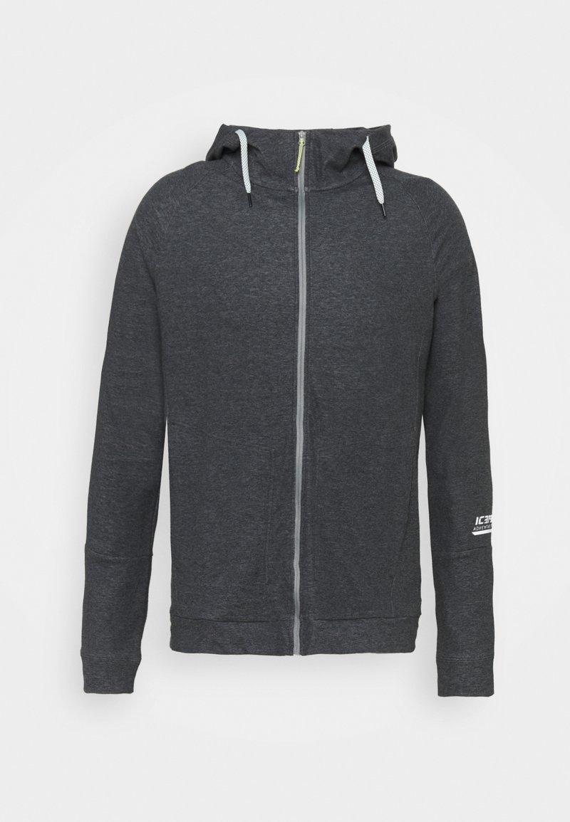 Icepeak - MORLEY - Zip-up hoodie - lead grey
