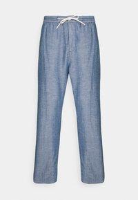 FAVE BEACH PANT - Tygbyxor - seaside blue