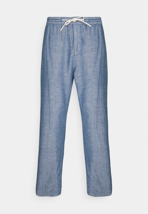 FAVE BEACH PANT - Trousers - seaside blue