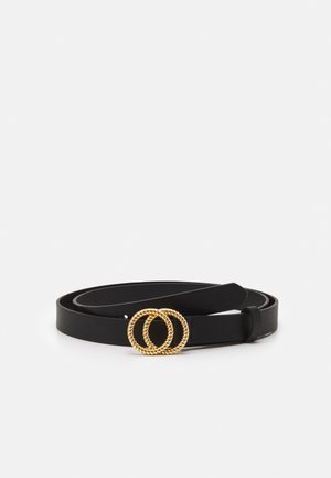 FGMISTY JEANS BELT CURVE - Pásek - black/gold-coloured