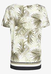 comma casual identity - T-shirt imprimé - white - 1
