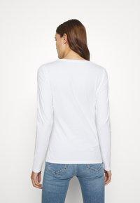 Liu Jo Jeans - LONGSLEEVE - Long sleeved top - white - 2