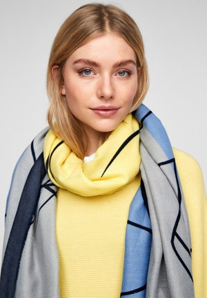 LOONEY TUNES MIT GLITZER - Scarf - dark blue placed print