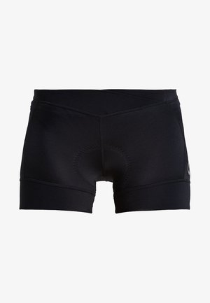 ESSENCE HOT PANTS - Legginsy - black