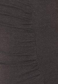 Anna Field MAMA - 3 PACK - Top - mottled dark grey/beige/white - 5