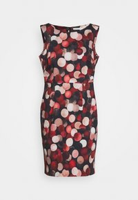 Betty & Co - Shift dress - black/red - 4