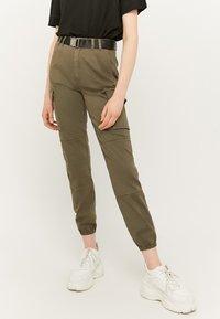 TALLY WEiJL - Cargo trousers - green - 0