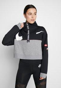 Nike Performance - DRY - Felpa - black/carbon heather/white - 0