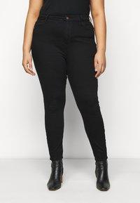 River Island Plus - Jeans Skinny Fit - black - 0