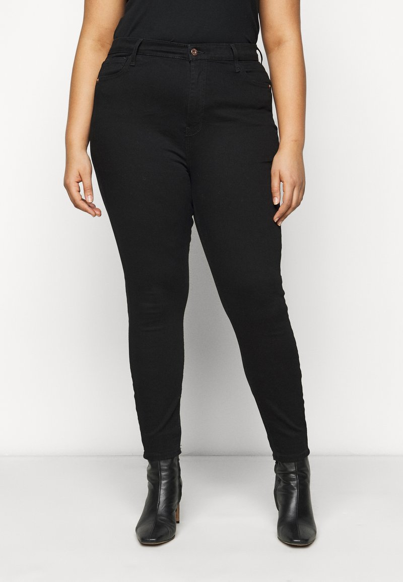 River Island Plus - Jeans Skinny Fit - black