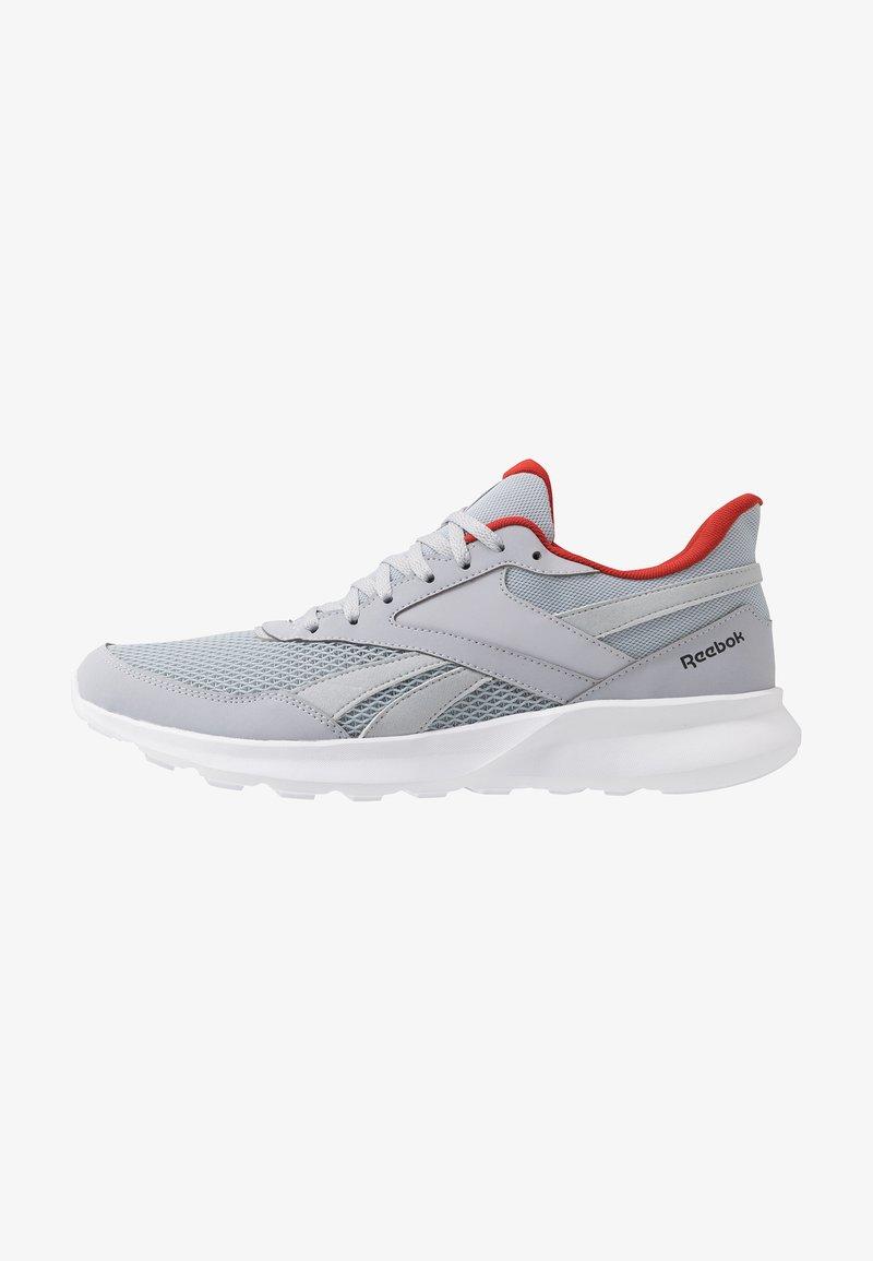 Reebok - QUICK MOTION 2.0 - Obuwie do biegania treningowe - cold grey/white/legand activ red