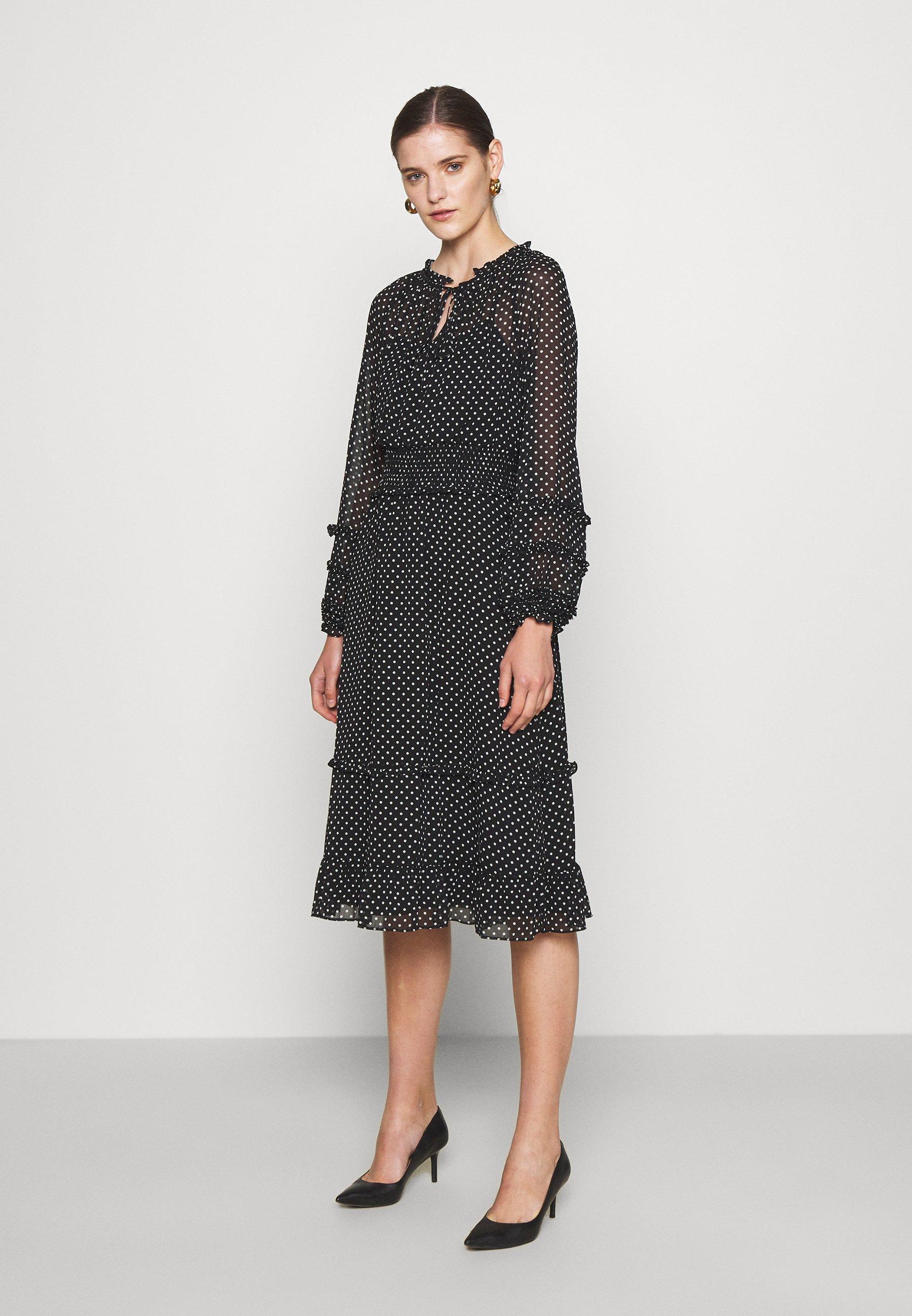 Mujer DESMOND LONG SLEEVE DAY DRESS - Vestido informal