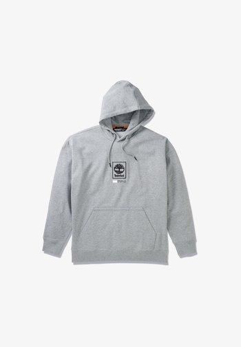 LOGO PLAY - Hoodie - medium grey heather
