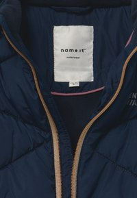 Name it - NMFMILTON PUFFER CAMP - Winterjas - dark sapphire - 3