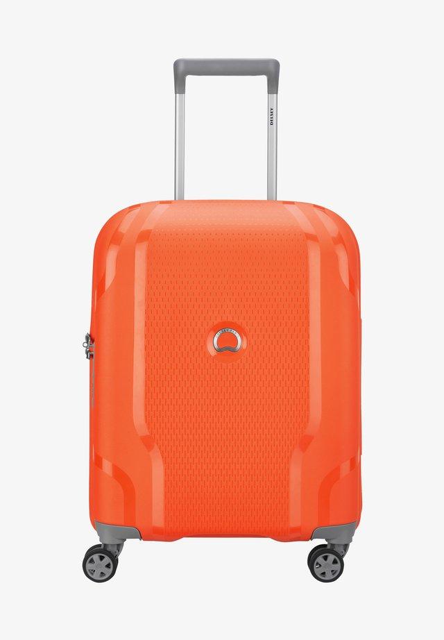 CLAVEL - Valise à roulettes - orange