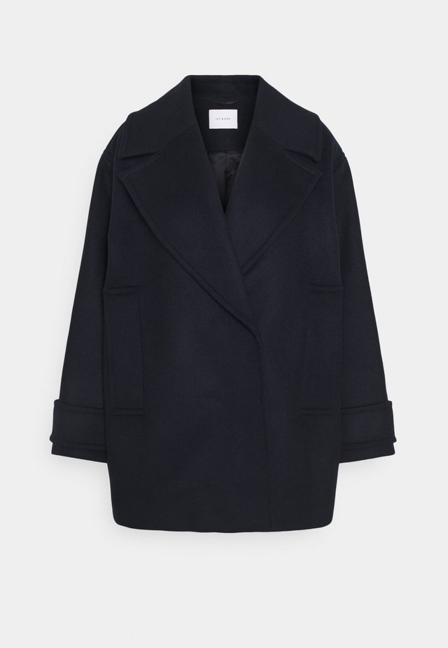 EGG SHAPED COAT - Manteau classique - navy blue