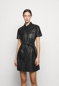 2nd Day - FRODEY - Košilové šaty - black - 0